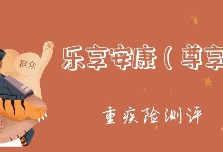 瑞泰人寿乐享安康(尊享版)  重疾险测评-90保险